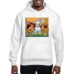 Angels & Bull Terrier #1 Hooded Sweatshirt