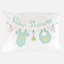 Baby Shower Pillow Case
