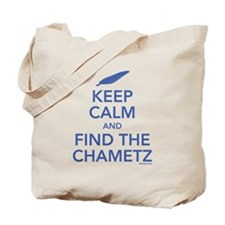 Keep Calm and Find the Chametz Tote Bag