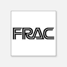 Frac [square] Sticker