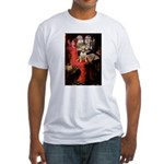 The Lady's Bull Terrier Fitted T-Shirt
