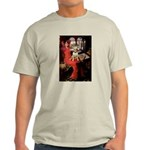 The Lady's Bull Terrier Light T-Shirt