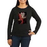 The Lady's Bull Terrier Women's Long Sleeve Dark T