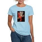 The Lady's Bull Terrier Women's Light T-Shirt