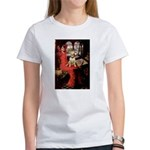 The Lady's Bull Terrier Women's T-Shirt