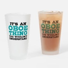 Oboe Thing Drinking Glass