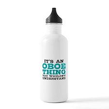 Oboe Thing Water Bottle