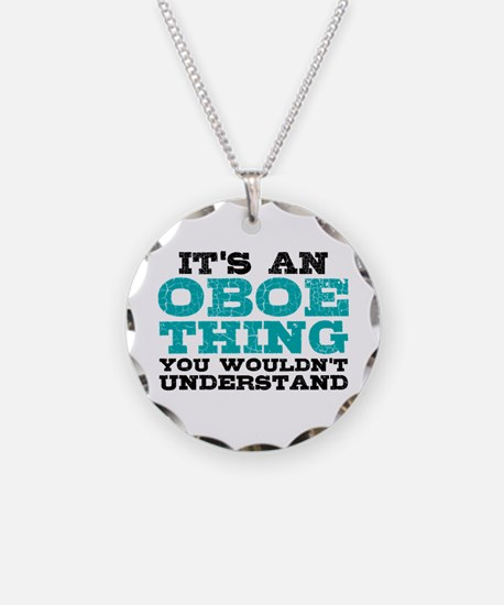 Oboe Thing Necklace