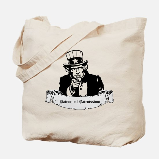 Say Uncle (Sam) Tote Bag