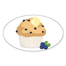 Blueberry Muffin Decal