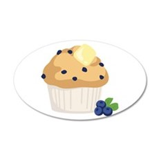 Blueberry Muffin Wall Decal