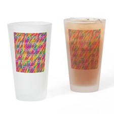 make up insult Drinking Glass