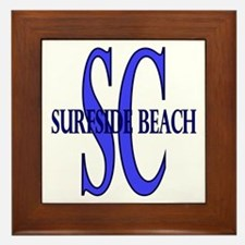 Surfside Beach SC Framed Tile