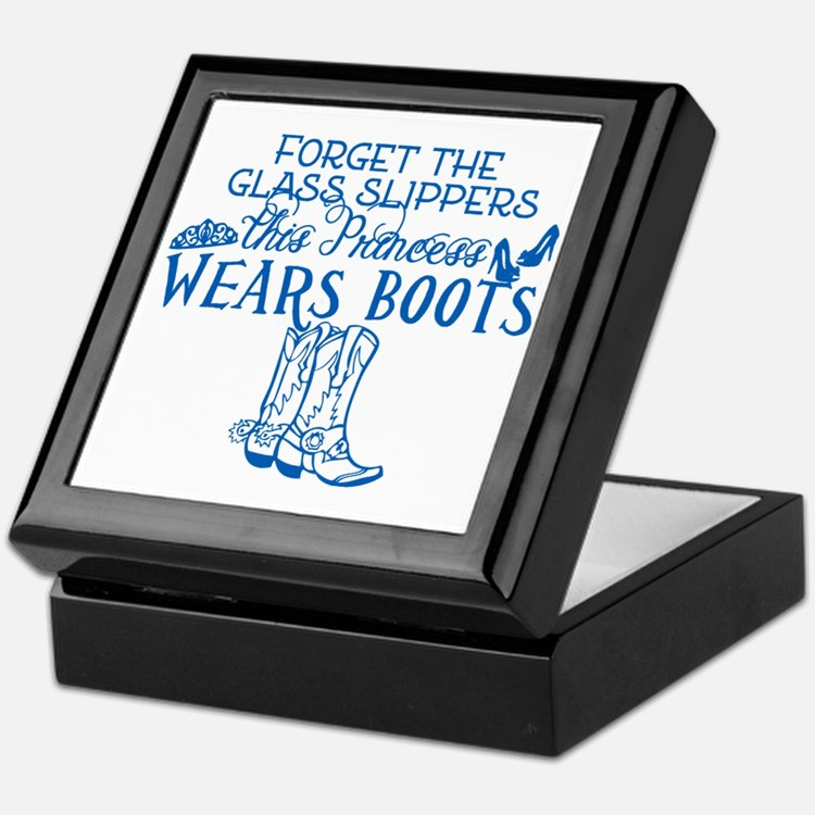 Princess in Boots Keepsake Box