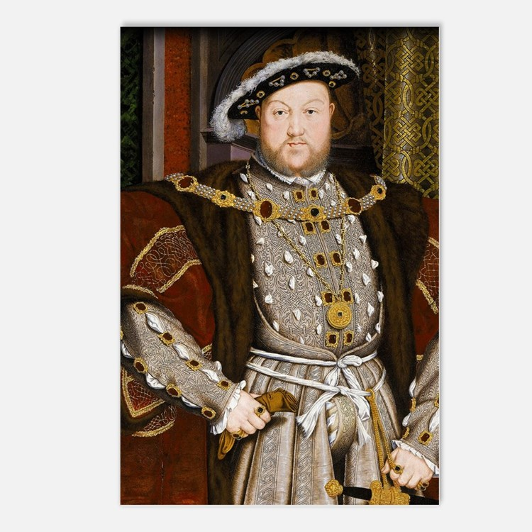 Henry VIII. Postcards (Package of 8)