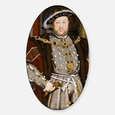 Henry VIII. Sticker (Oval)