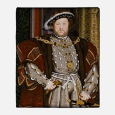 Henry VIII. Throw Blanket