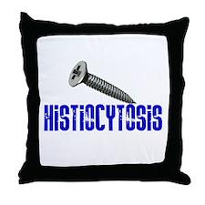Screw Histiocytosis Throw Pillow