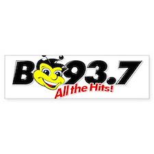 B93.7 Bumper Bumper Sticker