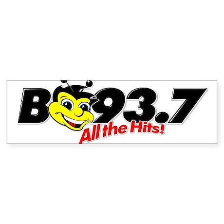 B93.7 Bumper Sticker