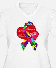 Interlaced Autism T-Shirt