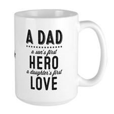 A Dad Large Mugs