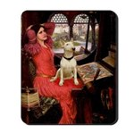 The Lady's Bull Terrier Mousepad