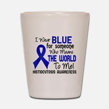 Histiocytosis Means World to Me 2 Shot Glass