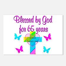 JESUS LOVE 65TH Postcards (Package of 8)