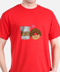 Donut-and-Coffee-love T-Shirt