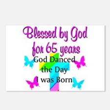 65TH BLESSINGS Postcards (Package of 8)