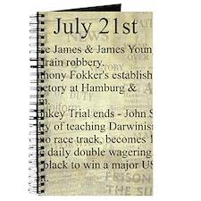 July 21st Journal