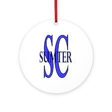 Sumter SC Ornament (Round)