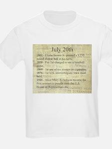 July 20th T-Shirt