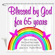 65TH GODS GRACE Shower Curtain
