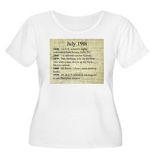 July 19th Plus Size T-Shirt