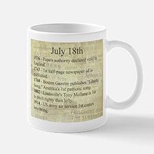 July 18th Mugs