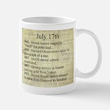 July 17th Mugs