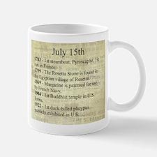 July 15th Mugs
