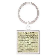 July 14th Keychains