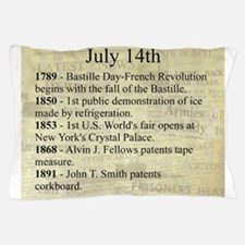 July 14th Pillow Case