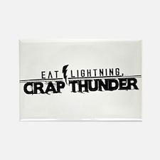 ELTRAV.COM Eat Lightning Rectangle Magnet