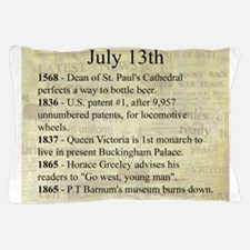 July 13th Pillow Case