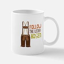 FOLLOW THE LEDER-HOSEn Mugs