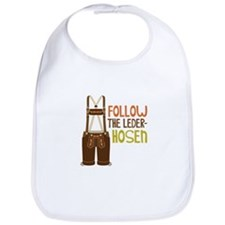 FOLLOW THE LEDER-HOSEn Bib