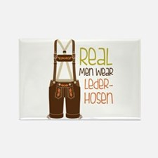 ReaL Men WeaR LedeR Hosen Magnets
