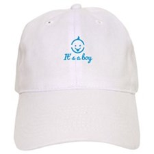 its a boy design with cute baby face icon Baseball