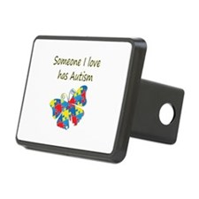 Someone I love has Autism Hitch Cover