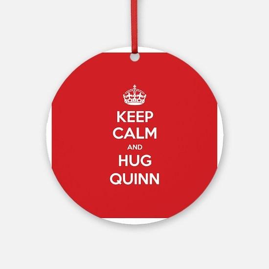 Hug Quinn Ornament (Round)