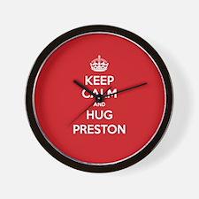 Hug Preston Wall Clock
